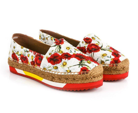 DOLCE & GABBANA  MULTICOLOR SHOES CE0011-AR384-8Q886