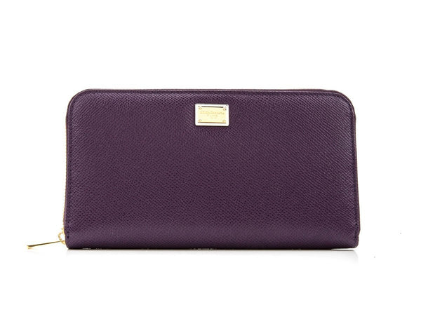 DOLCE & GABBANA  PURPLE WALLET BI0473-A1001-87876