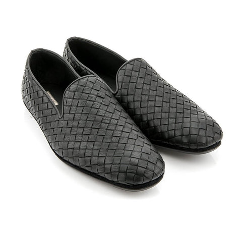 BOTTEGA VENETA  BLACK SHOES 324658-V0AH0-1000