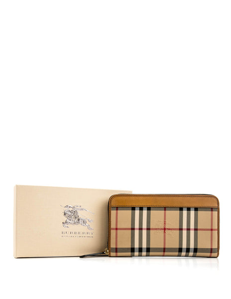 BURBERRY  BROWN WALLET 3935747-2160T