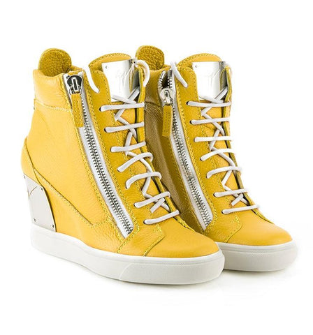GIUSEPPE ZANOTTI  YELLOW SHOES RS5002-55830