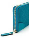 GUCCI  BLUE WALLET 354487-AIZ1G-4618