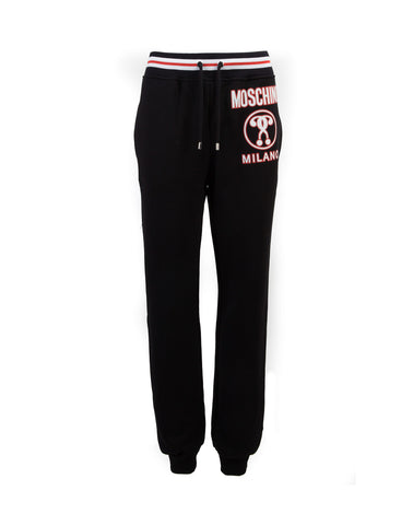 MOSCHINO  BLACK TROUSERS J0329-527-3555