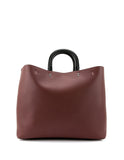 COACH CALF LEATHER BROWN BAG 59136-BPBOR