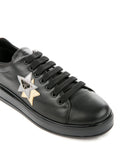 PRADA WOMEN NERO CROMO SHOES 1E672H-1OOL-F0H0S
