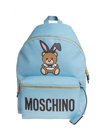 MOSCHINO  BAG CHINO-PLAYBOY-BEAR-LEATHER-BACKPACK-BAG-DO-7632-8210-1305