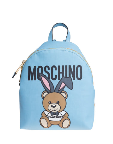 MOSCHINO  BAG CHINO-PLAYBOY-BEAR-LEATHER-BACKPACK-BAG-DO-7633-8210-1305