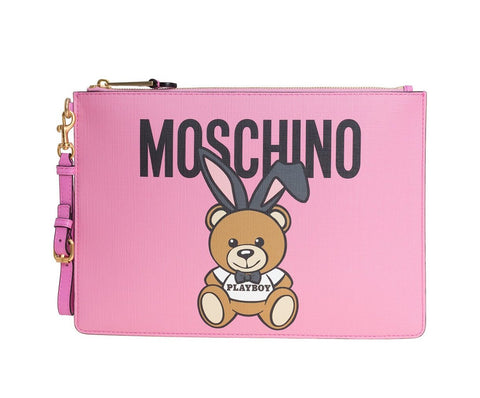 MOSCHINO  BAG CHINO-TEDDY-PLAYBOY-CLUTCH-BAG-DO-8420-8210-1208