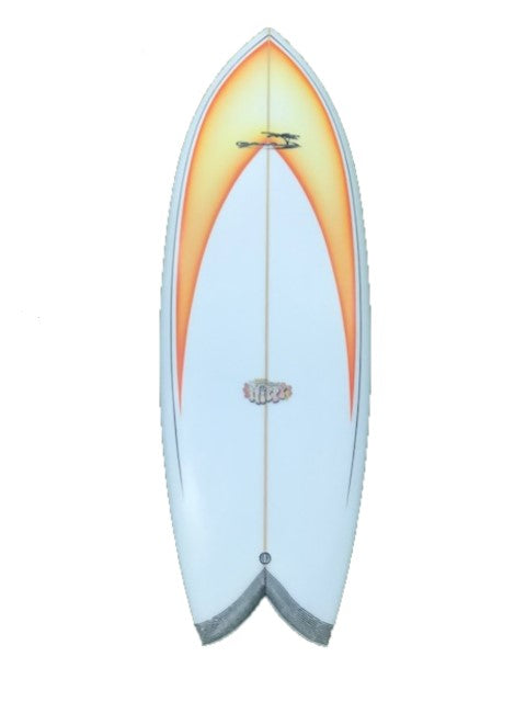 Yahoo Surfboard - 6'3 Hippy - Ocean & Earth WA