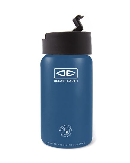 Insulated Flip Lid Coffee Mug 350ml - Ocean & Earth WA