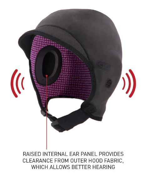 Easy Hear Neoprene Surf Hood - Ocean & Earth WA
