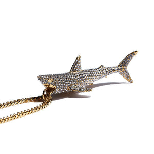 SHARK PAVE NECKLACE