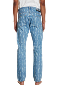 TRIBAL DENIM TROUSERS
