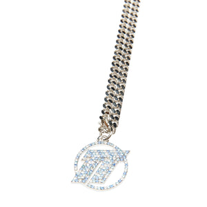 ICE TT PAVE NECKLACE