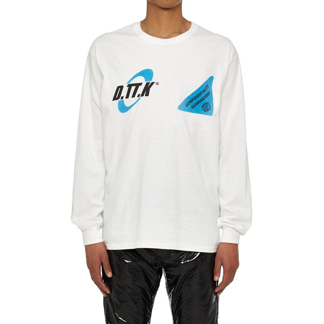 CLEAR PRINTED L/S