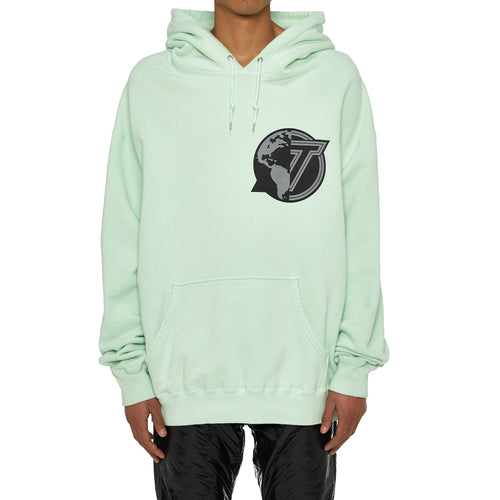 EARTH PATCH PULLOVER HOODIE