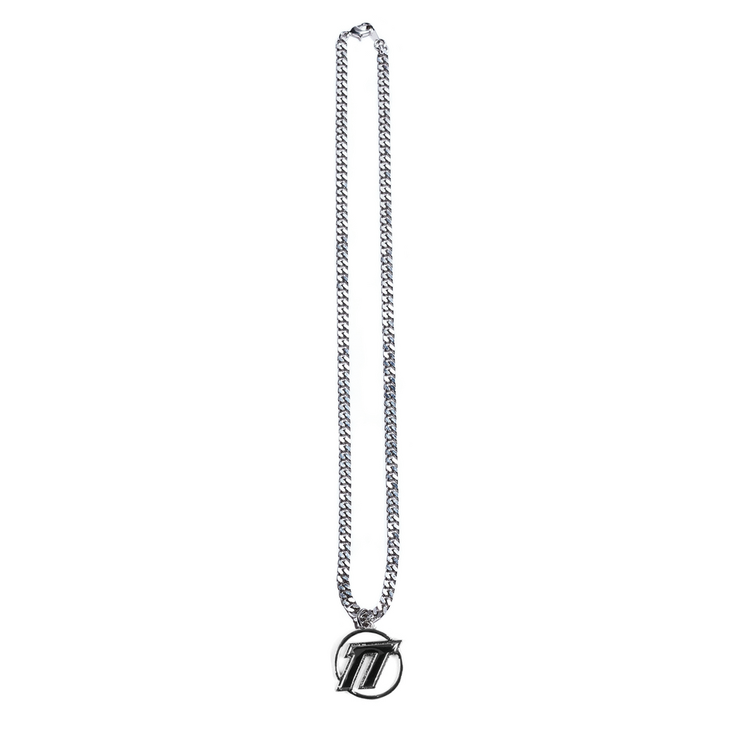 EMBLEM LOGO NECKLACE
