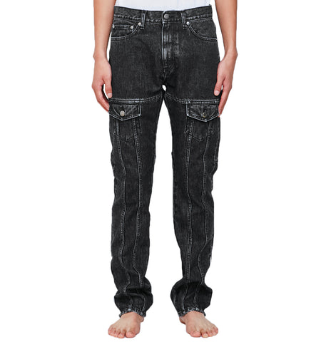 SEVEN POCKETS DENIM TROUSERS