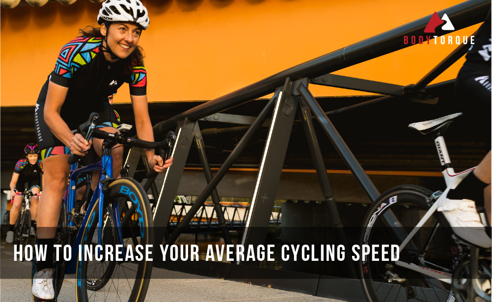 How to increase your average cycling speed