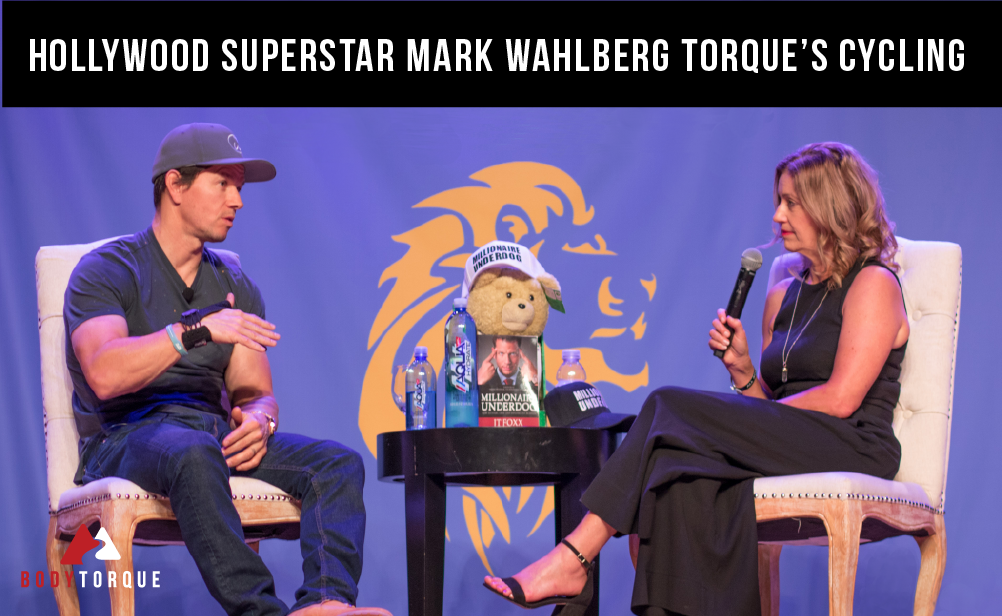 Hollywood Superstar Mark Wahlberg Torque's Cycling