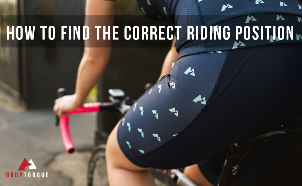 How to find the correct riding position