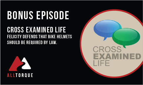 Bonus Episode  - Should Bike Helmets Be Required? With Chris Tatem from Cross Examined Life