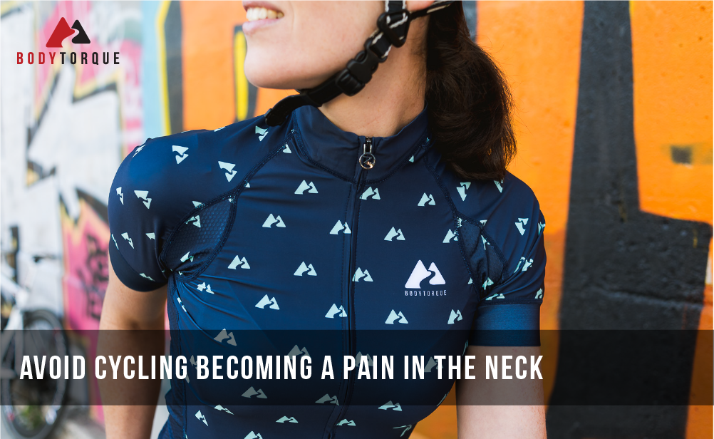 Avoid cycling becoming a pain in the neck