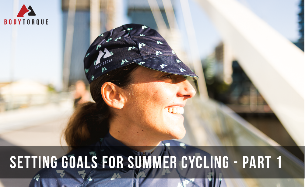 Setting goals for summer cycling