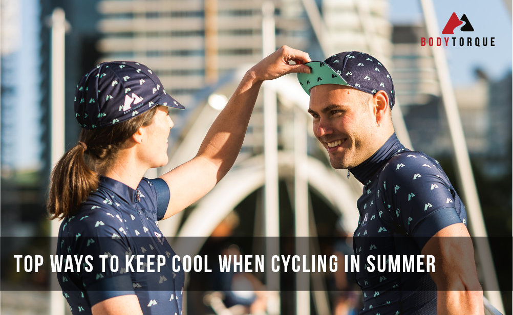 Top ways to keep cool when cycling in Summer