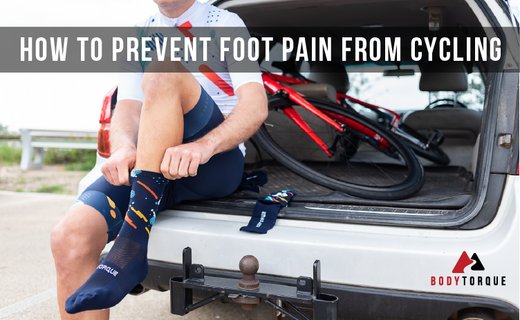 How to prevent foot pain from cycling