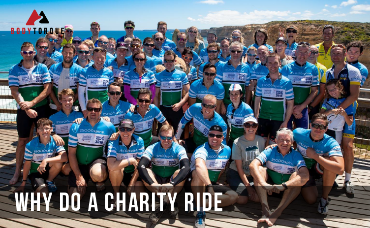 Why do a Charity Ride