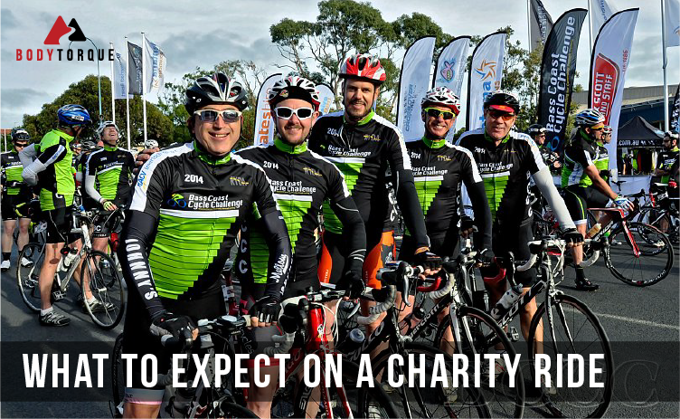 What to expect on a charity ride