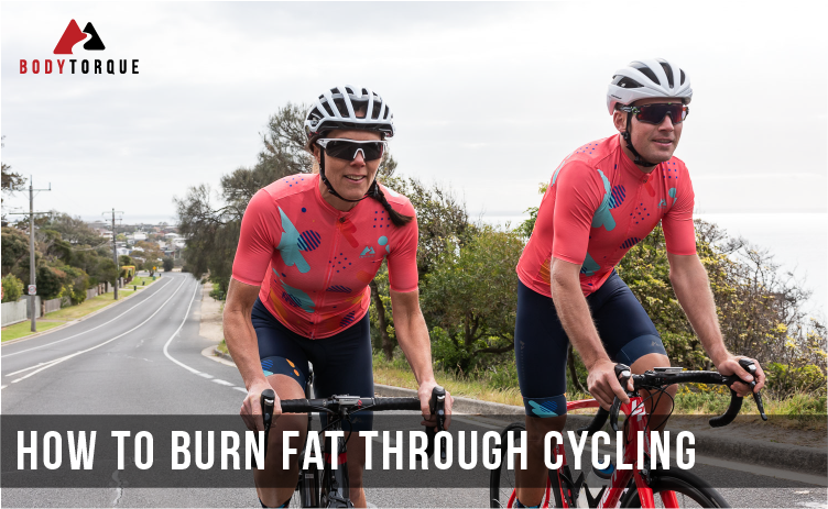How to burn fat through cycling