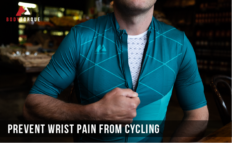 Prevent wrist pain from cycling