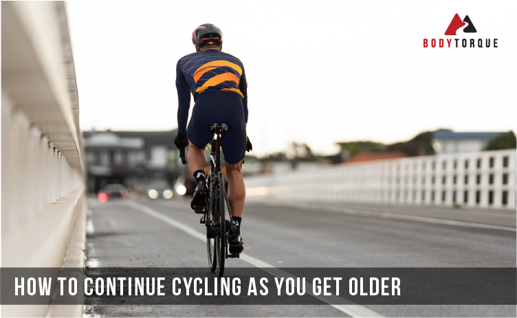 How to continue cycling as you get older