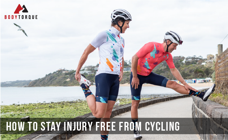 How to stay injury free from cycling
