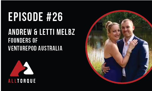Episode 26 - Andrew and Letti Melbz