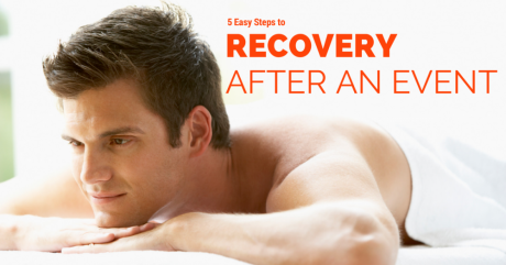 5 Easy Steps to Recovery after an Event