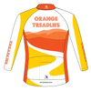 Orange Treadlies - CLASSIC LS Jersey