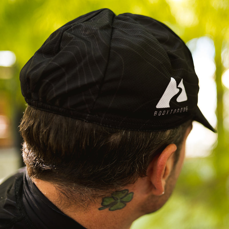 CYCLING CAP - BLACK/GREY