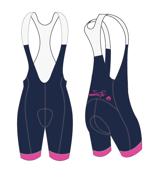 Cycle Edge - PRO EURO Women's Bib Knicks