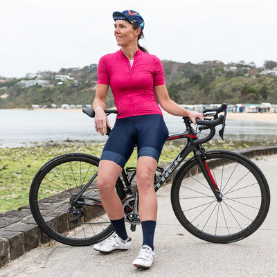 CORE Athletic Women's Jersey - Fuscia Fizz