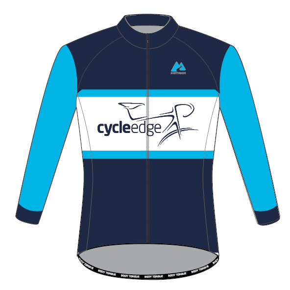 Cycle Edge - CLASSIC Italian LS Men's Jersey