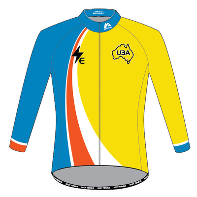 E/BIKE - U3A Ballarat - WINTER THERMAL LS Jersey
