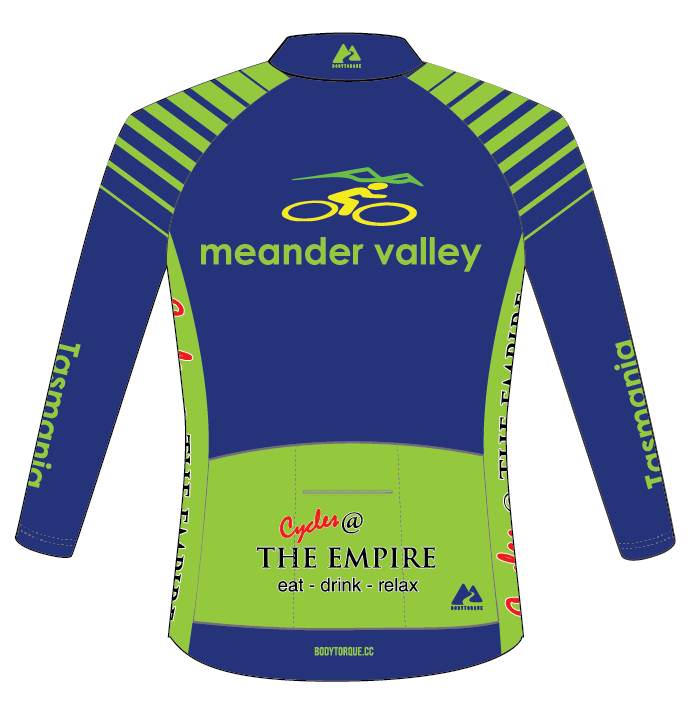 Meander Valley Masters - CLASSIC Italian LS Jersey