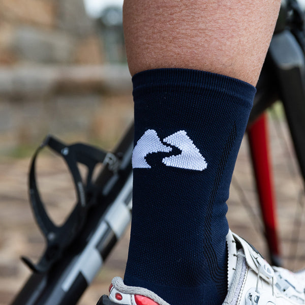 CORE CYCLING SOCKS - NAVY
