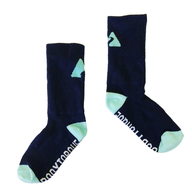 CYCLING SOCKS - NAVY/MINT