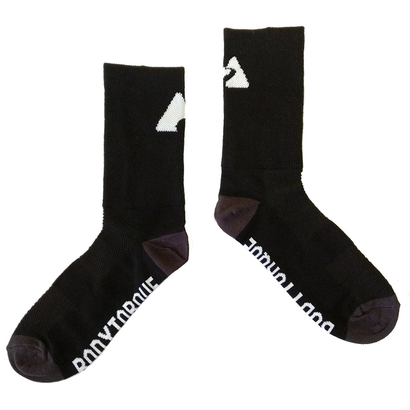 CYCLING SOCKS - BLACK/GREY