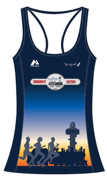 Summer Series - Womens Active Running Singlet
