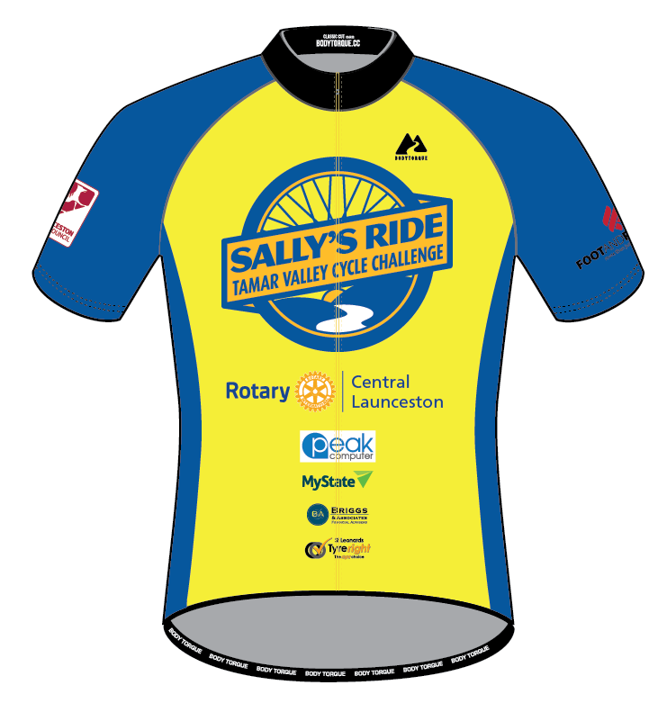 Sally's Ride 2018 - CLASSIC SS Jersey